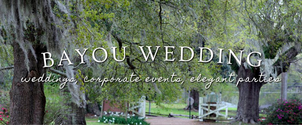 Bayou Weddings Haughton LA Wedding Party Venue